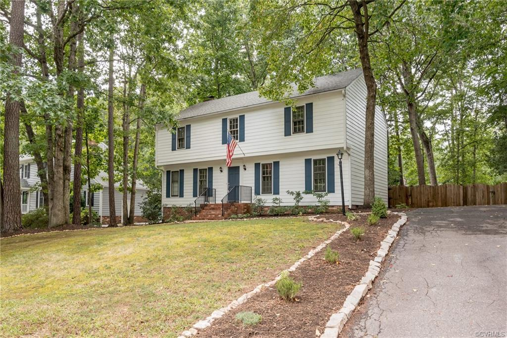Stunningly renovated Colonial home in the popular sought out Raintree Subdivision. You will enjoy th