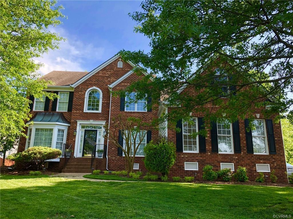 Welcome to this beautiful brick front home in Deep Run High School district with a stunning 2-story