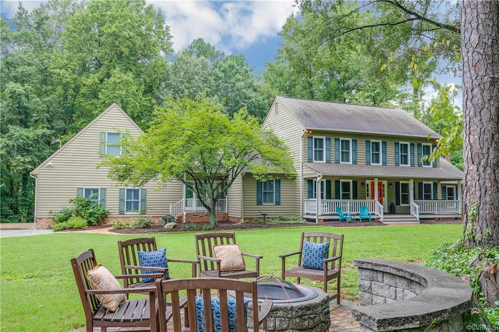 Must See! Unique opportunity to live your best life in the Tuckahoe area in a private, tranquil sett