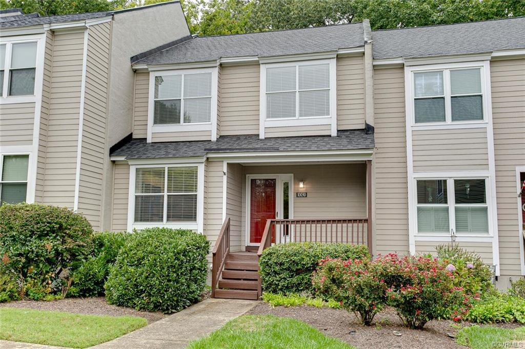 Welcome home to your new three bedroom, two and half bath townhome in Ruxton.  The HVAC system was r