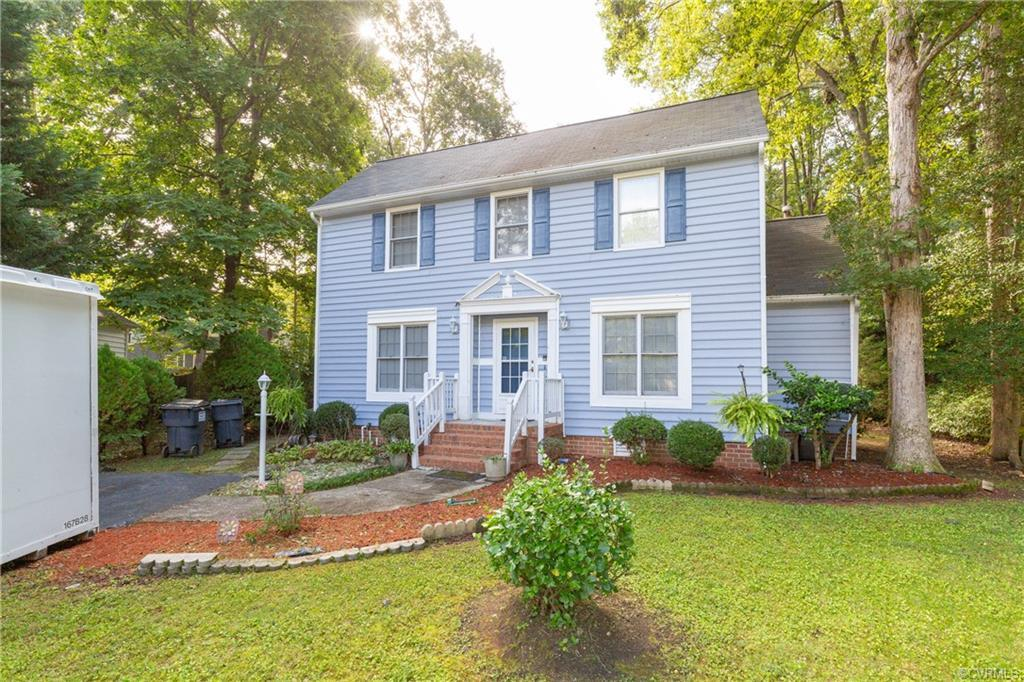 Beautiful home located in Abbots Mill just off of Lucks Lane. This 4 bed 2.5 bath, 2 story colonial