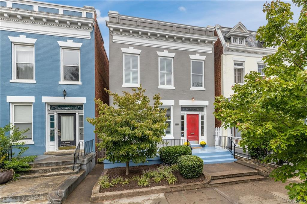 Welcome to 2120 Floyd Ave, located in the heart of the Fan District. This 1910 row house offers hard