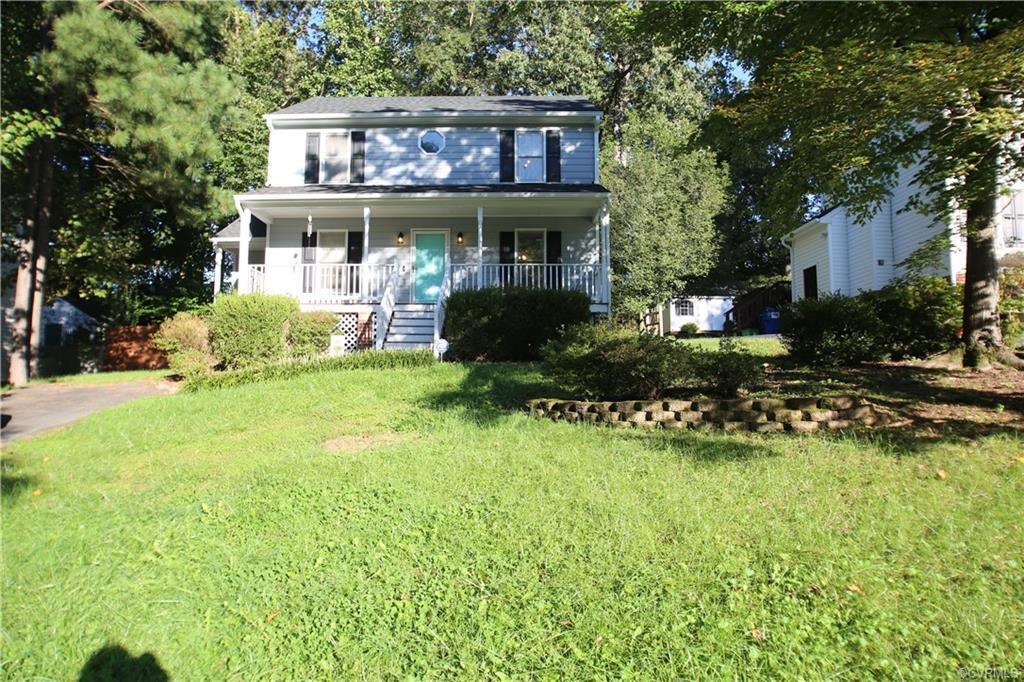 Close to 288 2 Story Colonial with country front porch. First floor features large great room with a