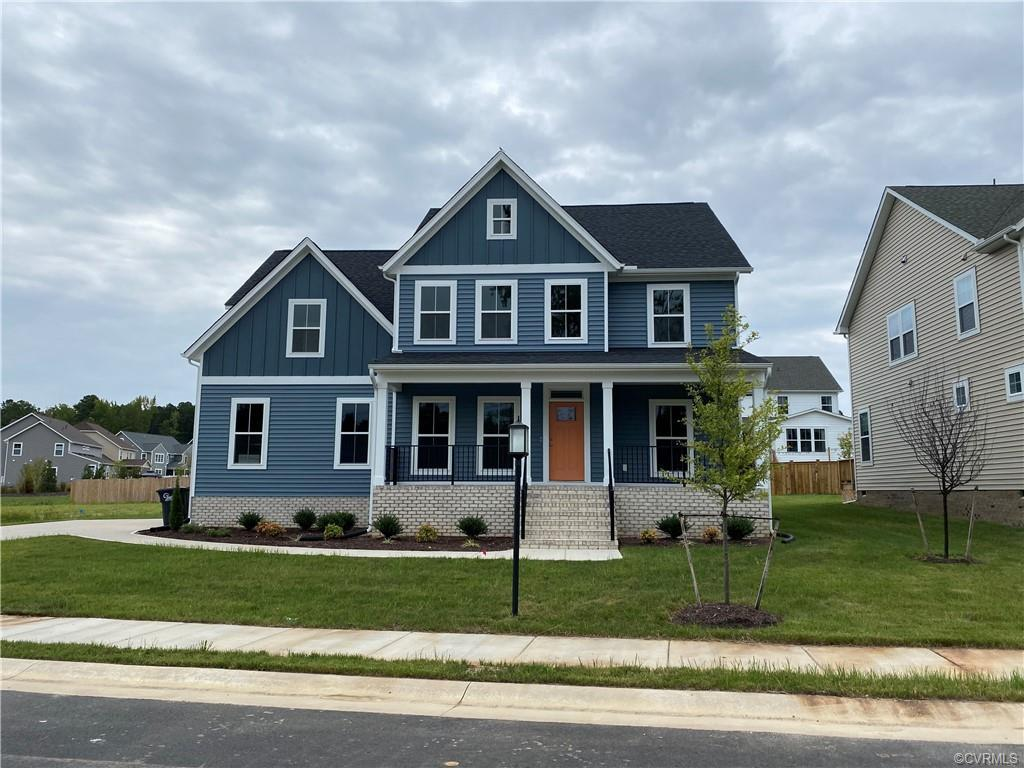 *Move-In Ready* Lifestyle Home Builder's Elliot floor plan features an upstairs master bedroom, side