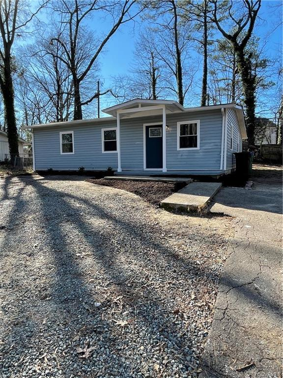 HARD TO FIND RENOVATION UNDER $200,000!!!!!   Fantastic 3 Bedroom Ranch home in one of Richmond's BE
