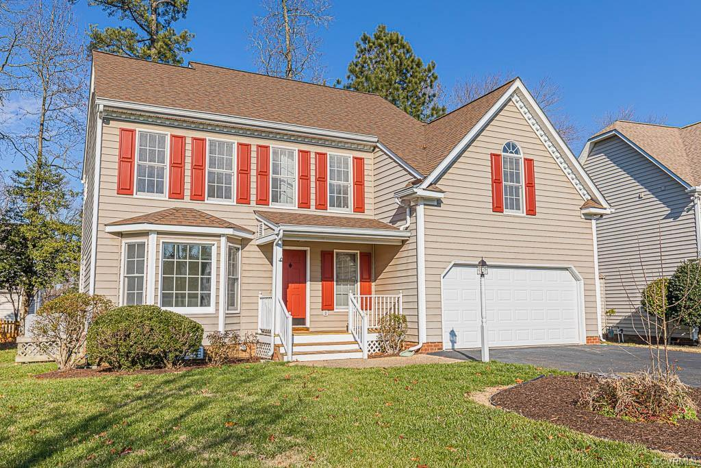 A great opportunity to own an UPDATED home with 4 bedrooms, 2.5 bathrooms, and nestled in a quiet cu