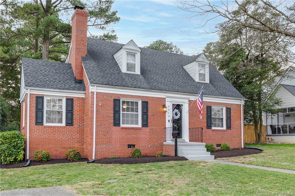 Charming 2 story Cape in Monument Hills! This all brick home features a 1st floor primary suite, upd