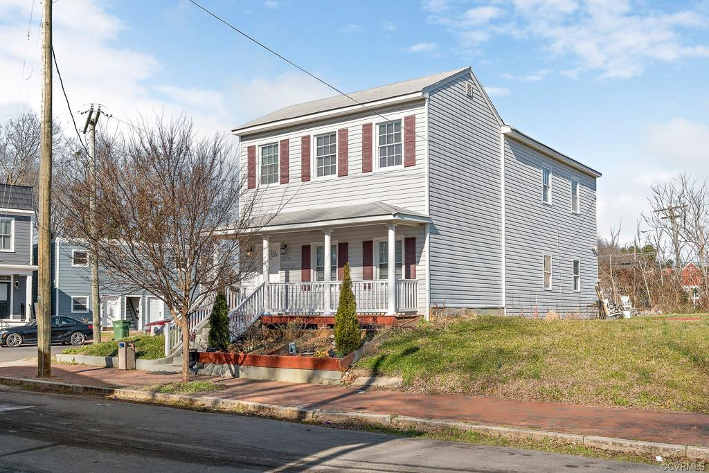 Welcome to this updated 2-story, 3 bedroom, 2 1/2 bath home, situated on a corner lot in the histori