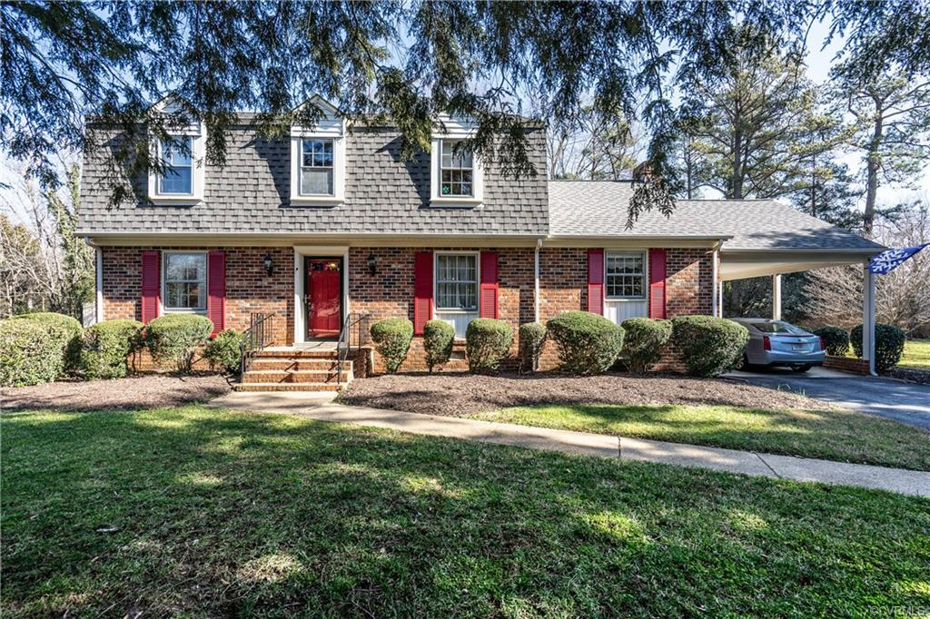Extremely Well Maintained brick contemporary 2-story with gable roof located in the popular, but quiet, Huguenot Road area of Richmond within minutes of the James River, Carytown, University of Richmond, the shops and restaurants at Bellegrade, and Chesterfield Town Center! There are great parks in the area and lots of safe places for family activities! This home has a beautiful entry foyer that leads to a large living room, family room, or large dining room when you enter from the front entrance. The second level Master Bedroom Suite has a private bath with a huge walk-in closet! There are three additional bedrooms that can be set up as traditional bedrooms or office, or exercise room however it best functions for your family!      Heated by Gas and having Central Air makes it an economically efficient home to maintain! The attached Florida room that exits to the large deck and huge back yard with built-in Barbecue will leave your family and friends speechless when they come to visit! Additional pictures are on the way!