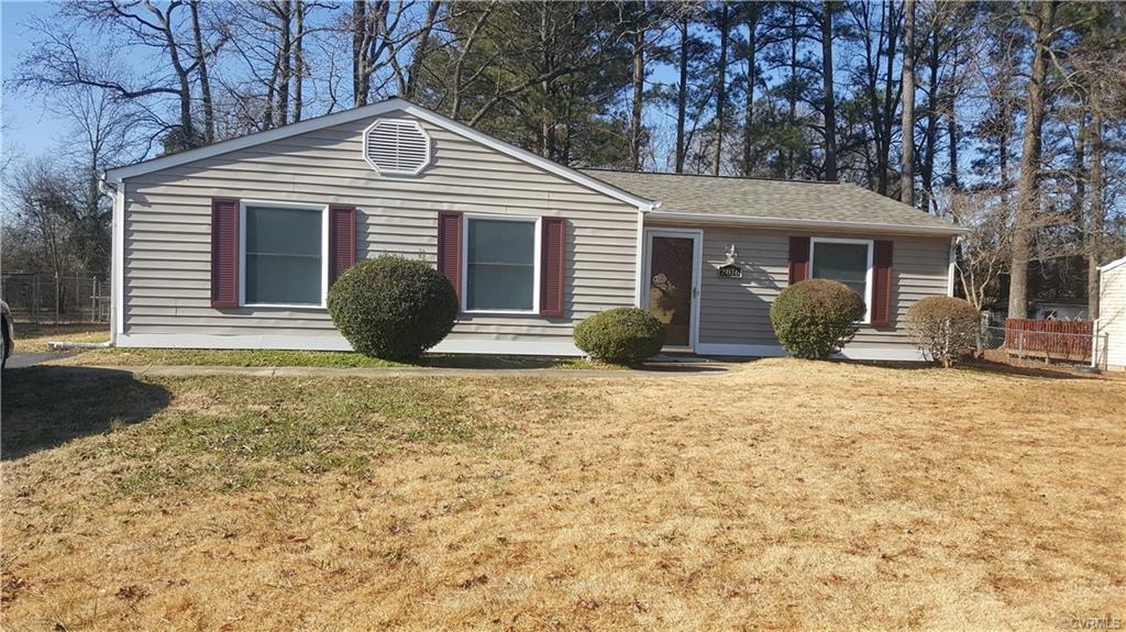 Enjoy this easy living one level living in this spacious 3 bedroom ranch. Master bedroom is spacious