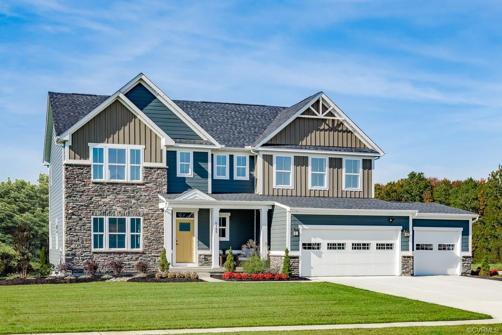 Only 4 homesites remain on this highly sought after Hanover community. Featuring distinctive homes O