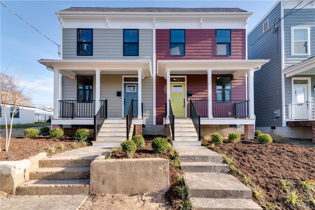 Gorgeous new construction home in booming Church Hill/Fairmount neighborhood. This 3 bed, 2.5 bath h