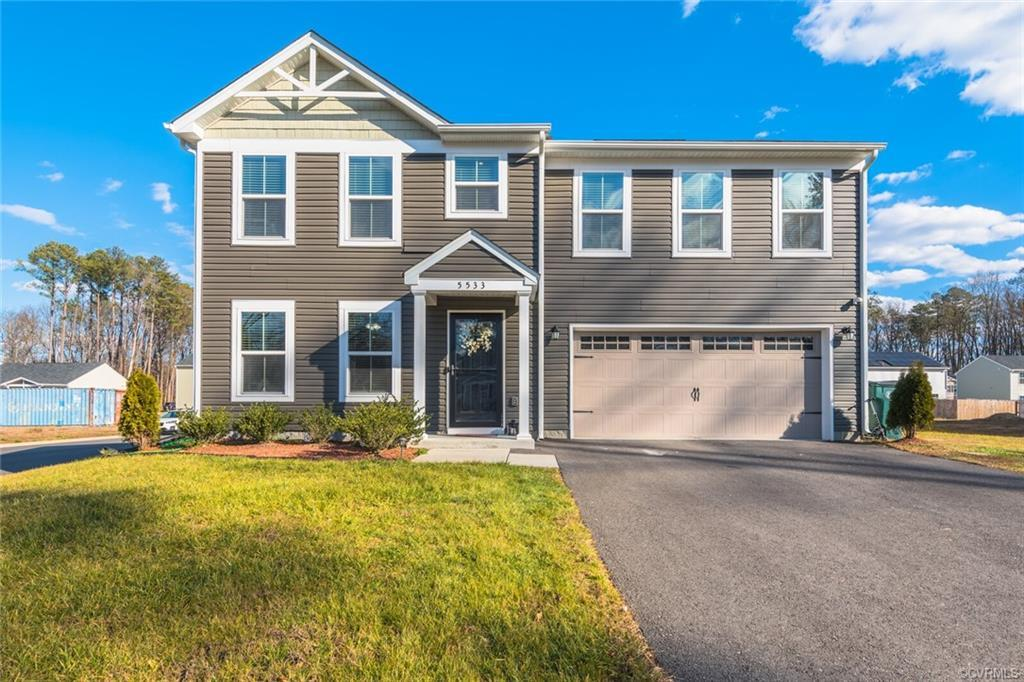 BEAUTIFUL 2 story Transitional Built in 2018 offers 4 Bedrooms, 2.5 Bathrooms & over 1,900 SqFt of S