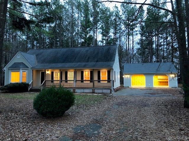 Picturesque home in quiet community. Welcome to this lovely cape home on a 2-acre lot in beautiful P