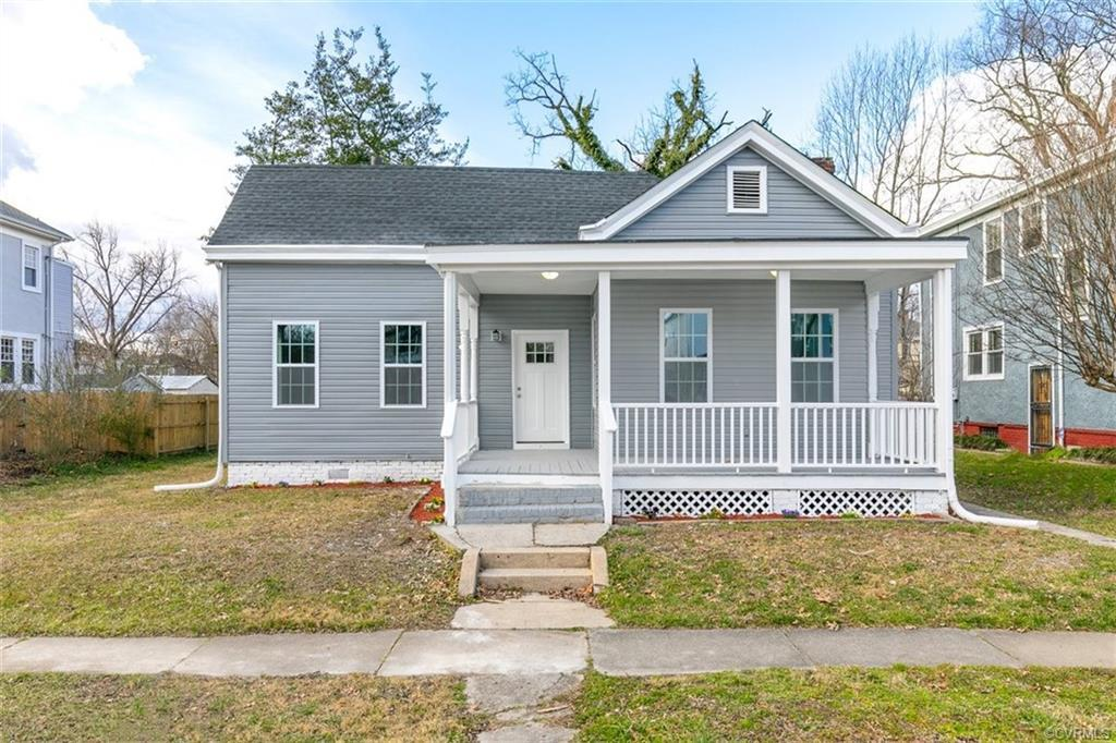 Come see this renovated bungalow in Richmond's Northside today! An updated low maintenance exterior