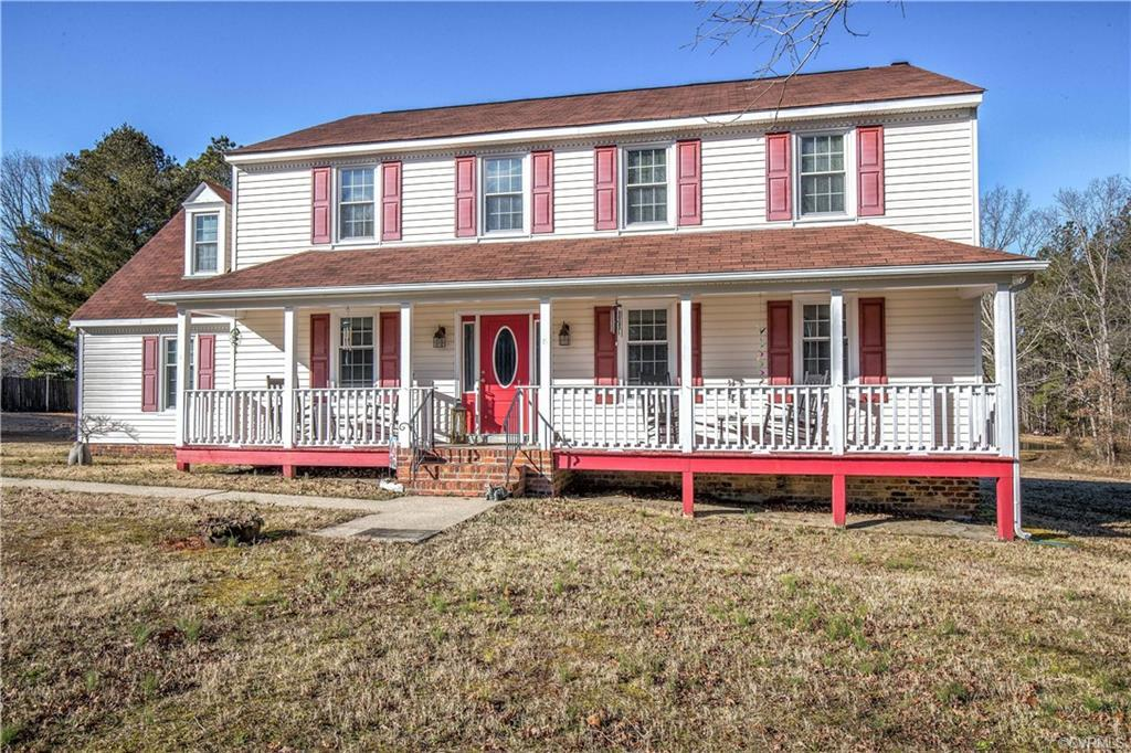 Space, space, and more space! This 4 bedrooms, 2.1 bath Colonial is sitting on 1.31 acres, has 2806