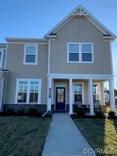 Just 1 year young, SAY YES! To this spectacular end unit Townhome. Situated in Glen Allen, this meti