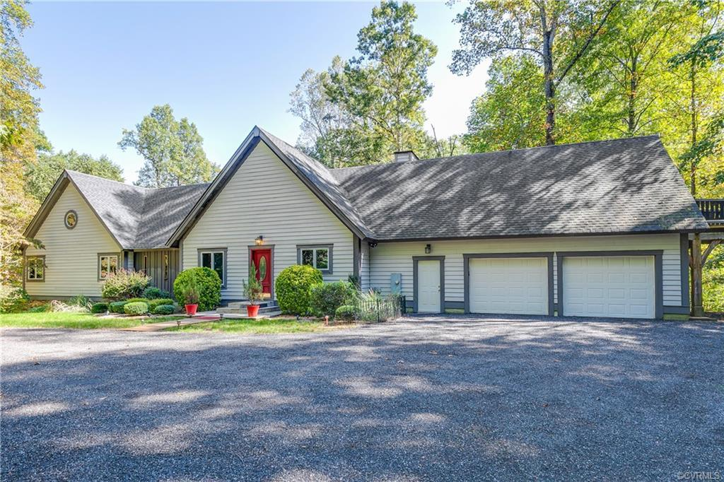 Ready for more space? Spacious TIMBER FRAMED home, surrounded by privacy and trees on a 2 ACRE lot!