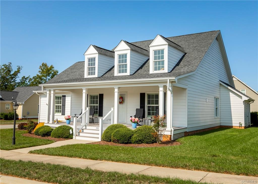"Scottville at Powhatan Courthouse - Powhatan's active 55+ Community - This Village Home ""G"" Model of"