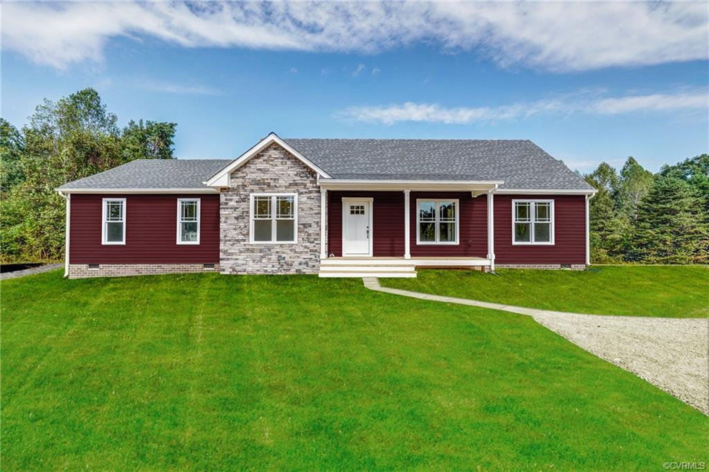 To Be Built Rancher ready for your personal touches..This one level home offers an open concept floo
