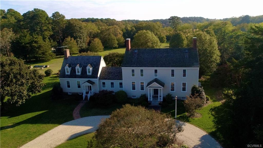WOODLANDS is a beautifully restored 1780s colonial house located on 293 acres in Northampton County.