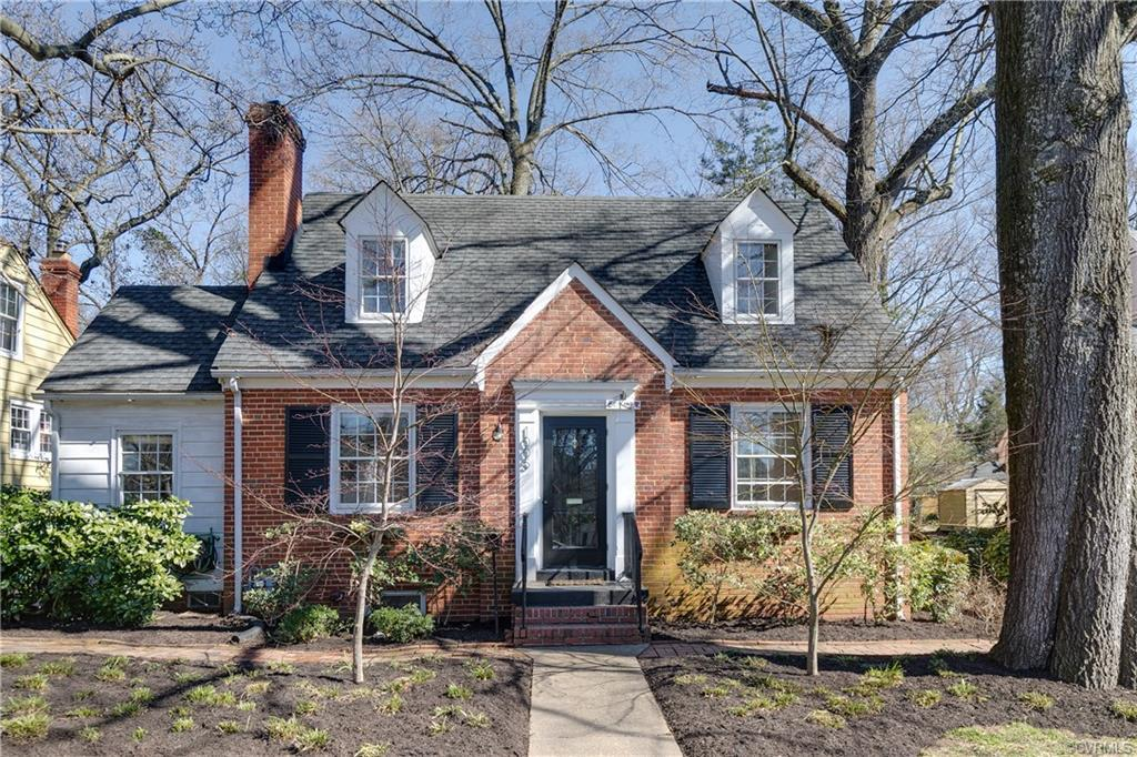 Storybook brick cape cod with large backyard studio space in Forest Hill Terrace! Walking distance t