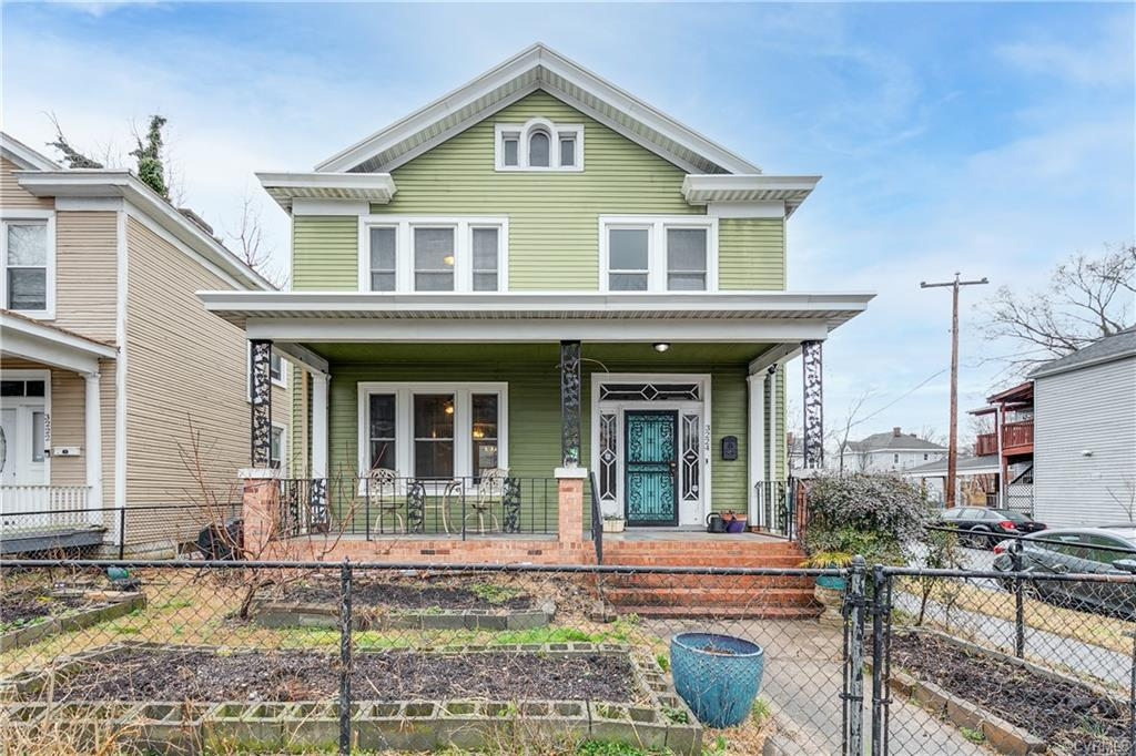 Highland Park gem with beautiful features awaits new owners! This lovely home features hardwood floo