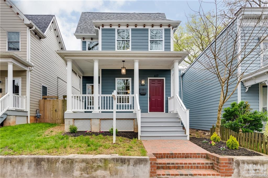 Are you looking for a completely renovated home in Oregon Hill? With views of the downtown skyline a