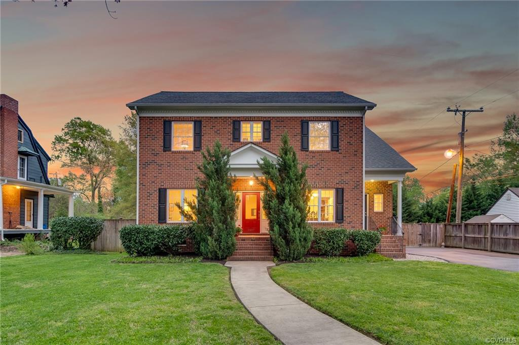 Welcome home to this stunning 2008 brick home that kept the charm and craftsmanship of Northside hom