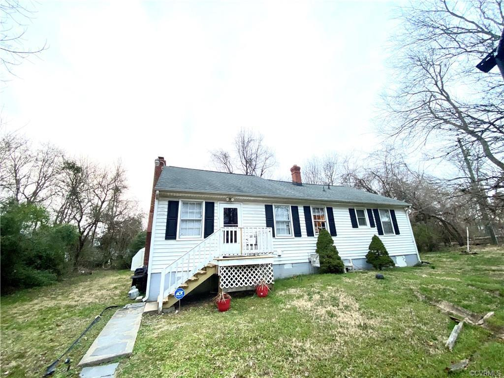 Colonial Ranch Style Home with Over 1,700 Square Feet, 3 Bedrooms and 2.5 Baths Sitting on an Acre L