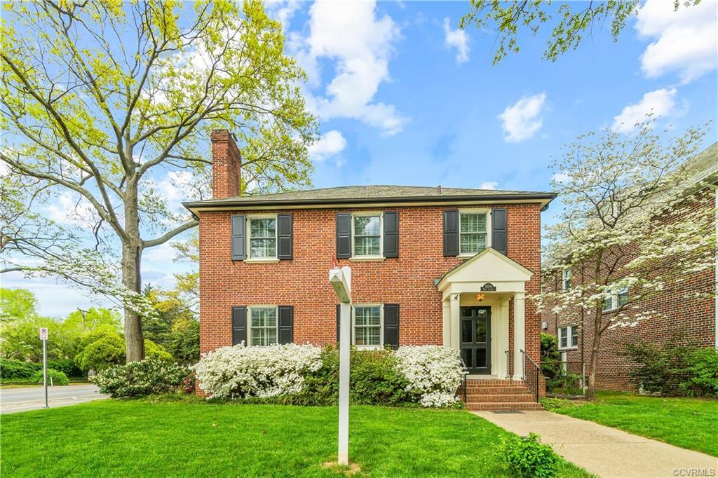 The one you have been waiting for!  Come check out this brick colonial on the well-established Park