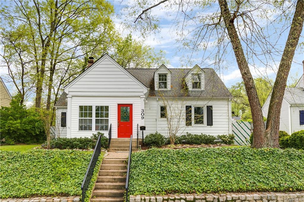 Welcome to this storybook cape directly across from Forest Hill Park! Walking distance to Crossroads