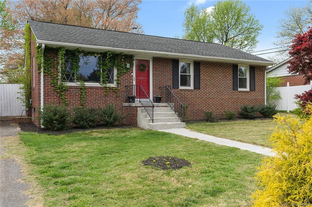 A charming brick rancher in Richmond for under $200k?!  City-living at an affordable price still exi