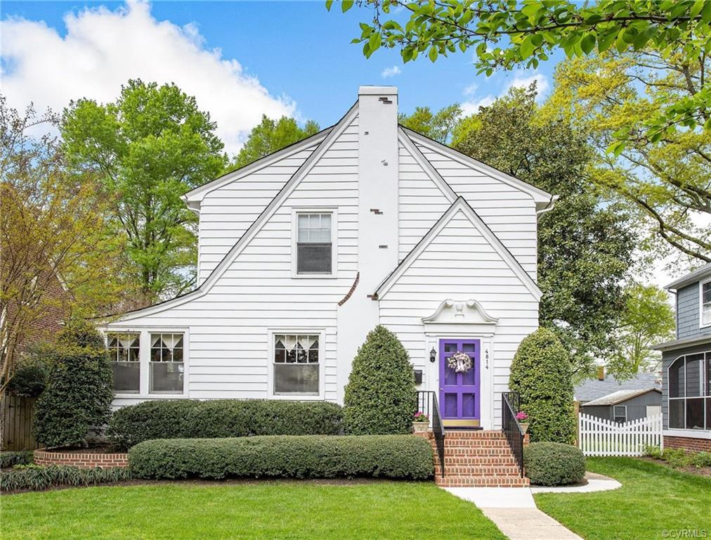 This delightful two-story Tudor is located on a beautiful tree-lined street in Ginter Park. This hom