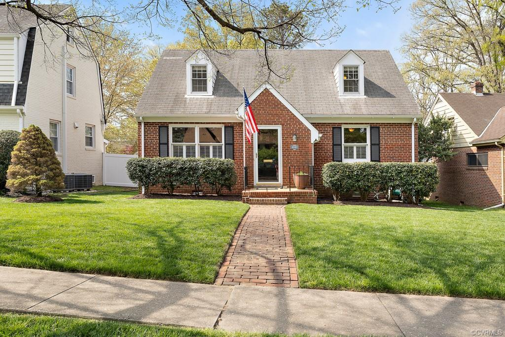 You will love this charming 4 bedroom, 2 bath cape that is situated on a park-like lot in Willow Law