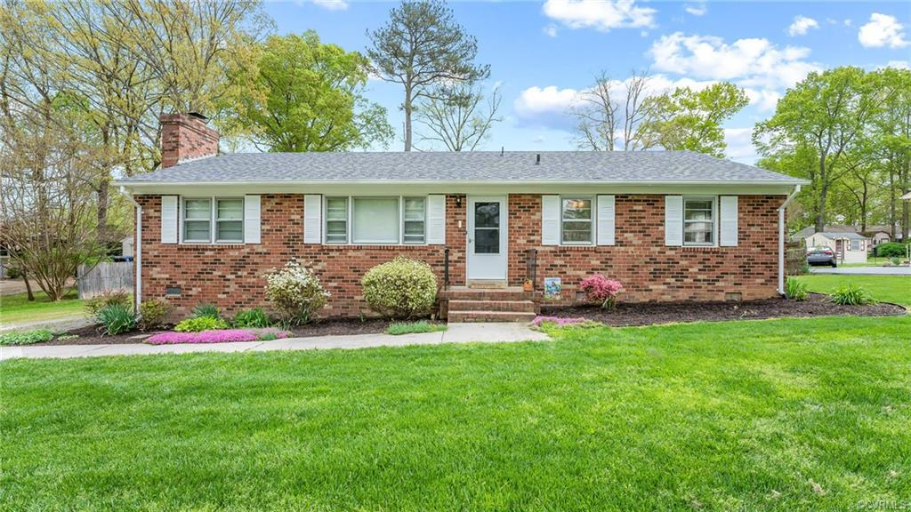 Just listed!  Well-maintained brick rancher in the heart of Midlothian. Walking in you will find the