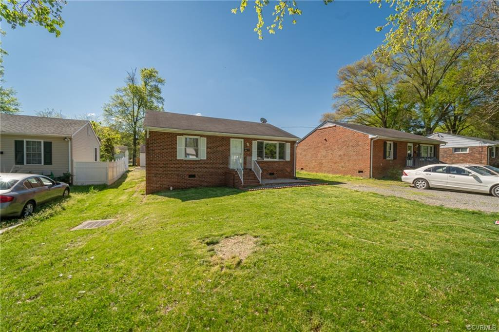 Welcome home to 233 N New, a three bedroom rancher in Highland Springs, with quick access to both th