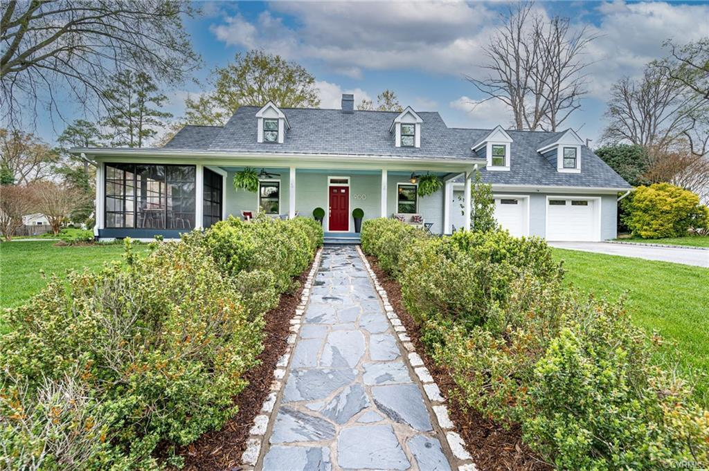 Quite simply, WOW! 1950's Cape Cod blended into a modern, sophisticated & spacious home in the much