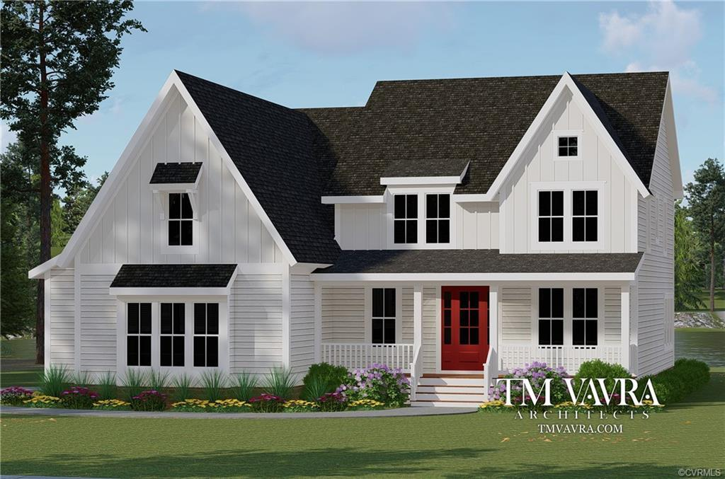 The Yorktown Plan ~ Built by Evergreen Homecrafters~ The Yorktown Plan is a charming and spacious Fa
