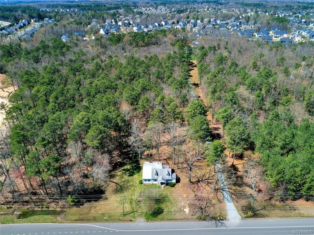Great opportunity for an almost 4 acre lot located in the most prime area of Glen Allen. There is cu