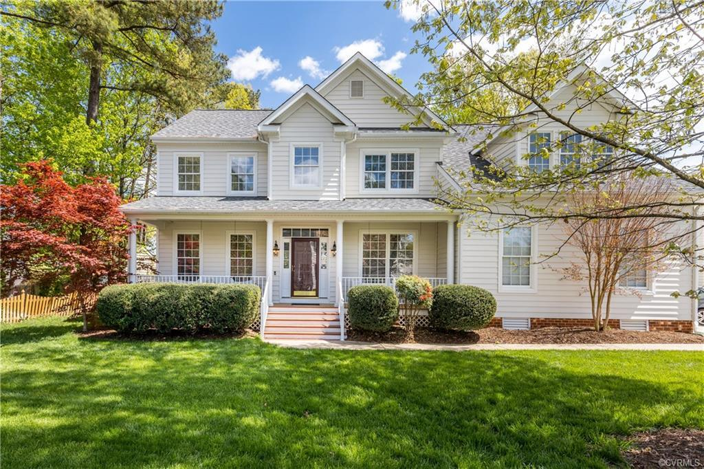 What a fabulous find in the highly sought after Milestone subdivision, just minutes from interstates
