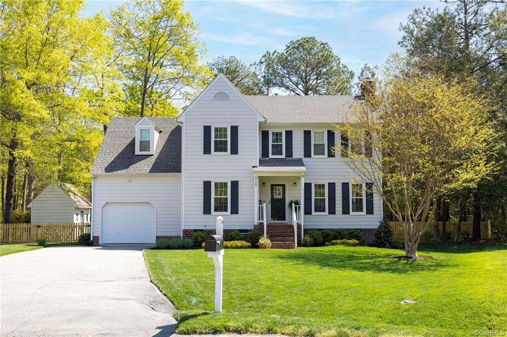 Stunning colonial style home with four generously sized bedrooms. The magazine worthy back yard is h