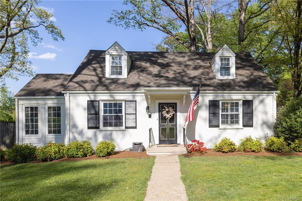 "Looking for a classic Cape in the ""26""? This home is a must see! Gorgeous white brick cape with cris"
