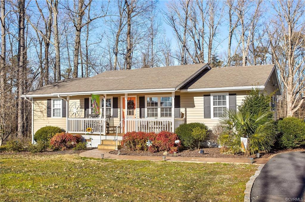 Beautifully updated, sitting on top of a knoll in Rockville with beautiful pasture views from the fr