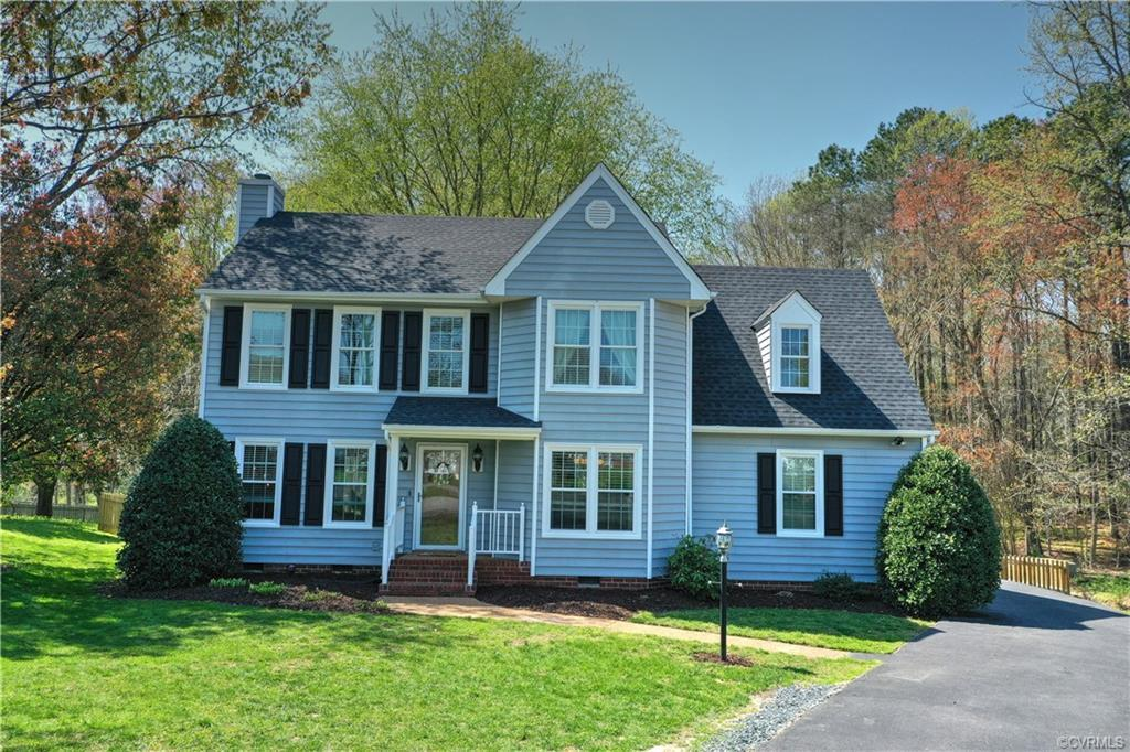 Welcome to this beautifully maintained home on one of the best cul-de-sac, private lots in the Fox H