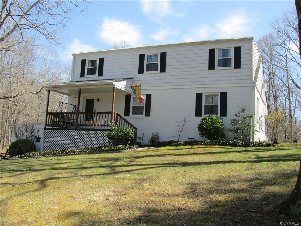 In Hanover on 1.25 acres you will find this older home has been loved and well maintained. First flo