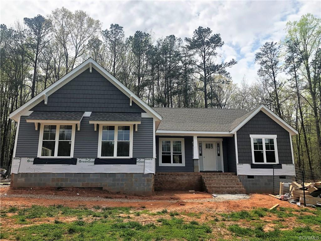 New Construction ~ Eastern Powhatan ~ Ready for a late JUNE 2021 Closing.  The perfect one level flo