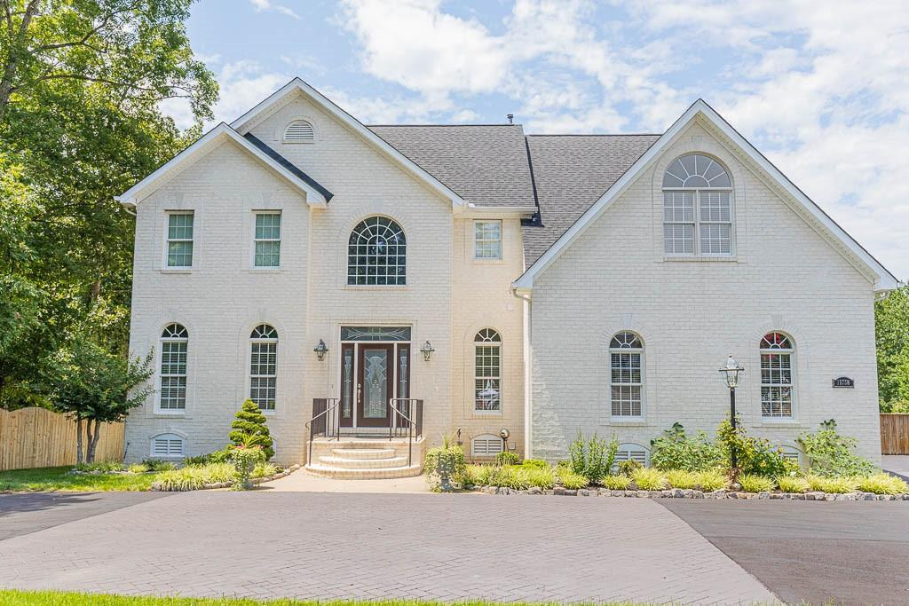 Vacation at home! Beautiful three story home with large privacy fenced backyard with a salt water po