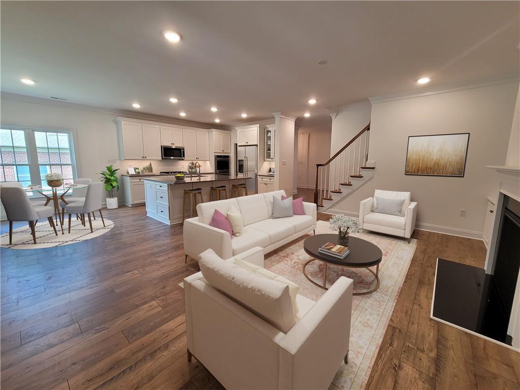 Buy now, move in summer 2022!! The Marwick features first floor living with indoor/outdoor living sp