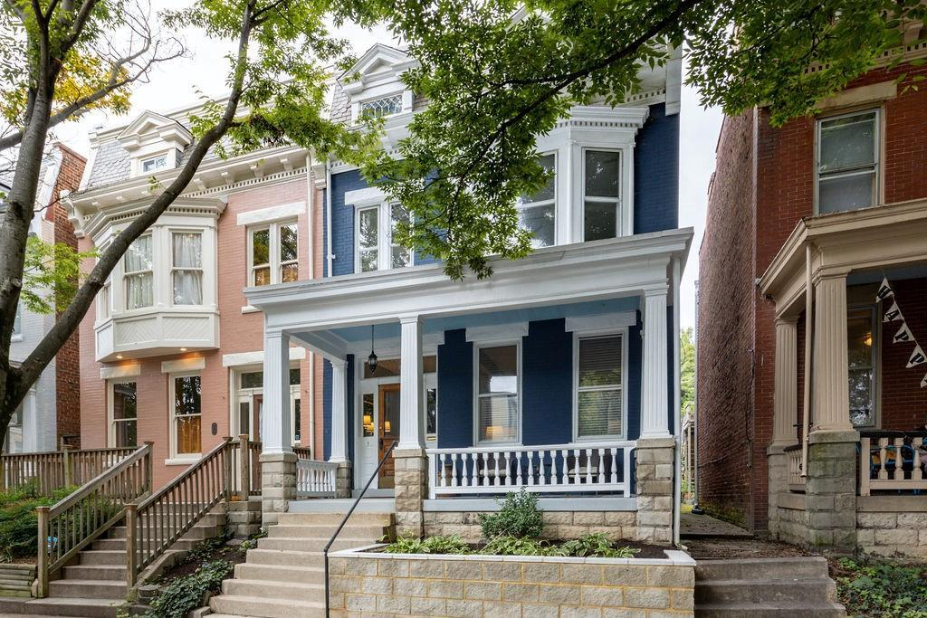 This gorgeous house in the Fan is a wonderful blend of historic details and modern amenities.  The h